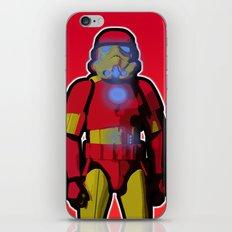 iron trooper iPhone Skin