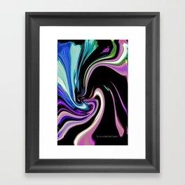 """""""Pastel Nightlife"""" Framed Art Print"""
