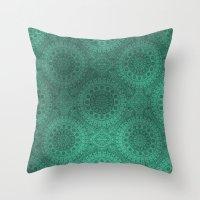 arab Throw Pillows featuring Arab color by Sandra Kurasz