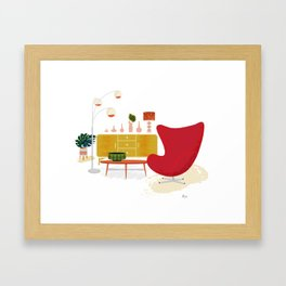 My Living Room Framed Art Print