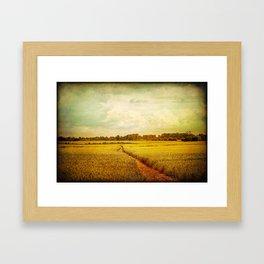 Castle Walk Framed Art Print