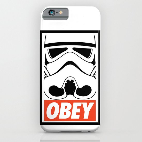 OBEY Storm Trooper  iPhone & iPod Case
