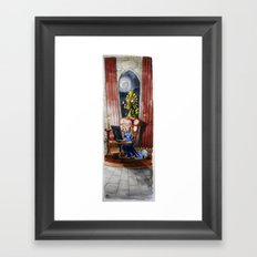 Where my Prince will be Framed Art Print