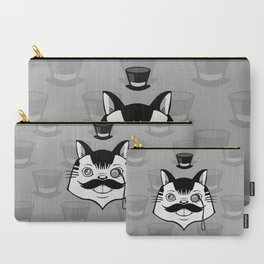 Sir Monocle Kitteh Carry-All Pouch