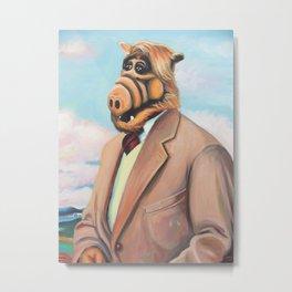 Professor Alf Metal Print