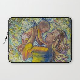 A Mother's Heart Laptop Sleeve