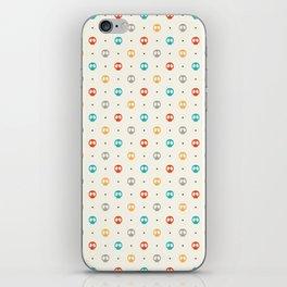 Pattern Skulls Color iPhone Skin