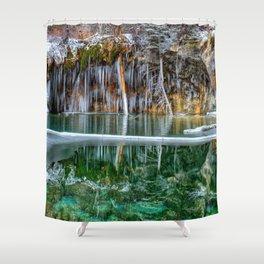 A Serene Chill Shower Curtain