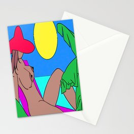 TOPLESS Stationery Cards