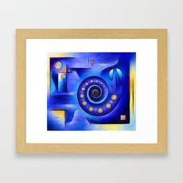 Grefenissa V1 - space art Framed Art Print