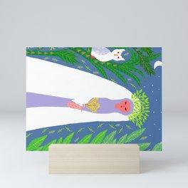 TIMESUP- Mary Magdalene , supreme guardian of women Mini Art Print