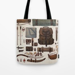 Adventurer's Inventory Tote Bag