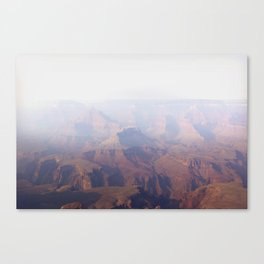 Smoky Hazy Days in the Grand Canyon Canvas Print