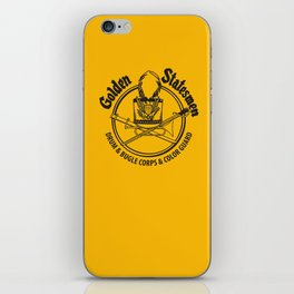 Golden Statesmen Drum and Bugle Corps iPhone Skin