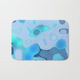 Blue Bubbles Bath Mat