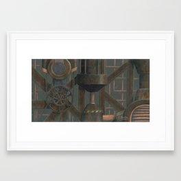 Carbon Framed Art Print