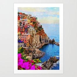 Italy, Cinque Terre Art Print