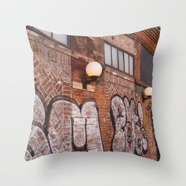 East Village Streets III Throw Pillow