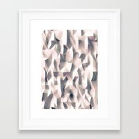 silent Framed Art Prints featuring Silent by sanjit