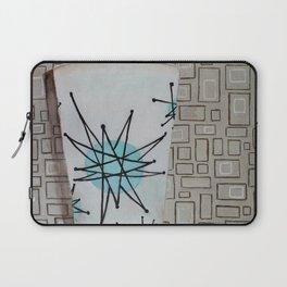 Atomic Starburst Retro Painting Laptop Sleeve