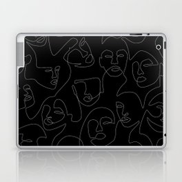 Face Lace Laptop & iPad Skin