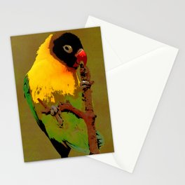Nature Parakeet Stationery Cards
