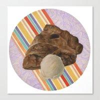pie Canvas Prints featuring Pie by Stephanie Struse