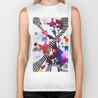 splash Biker Tanks featuring Splash by DuckyB