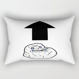 Forever Alone Rectangular Pillow