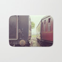 Vintage Railway Carriages Bath Mat