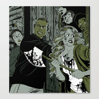 zombies Canvas Prints featuring Zombies by KissingCullens