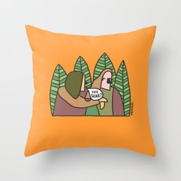 you think it's fair? Throw Pillow