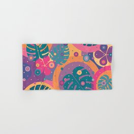 Tropical Dots Hand & Bath Towel