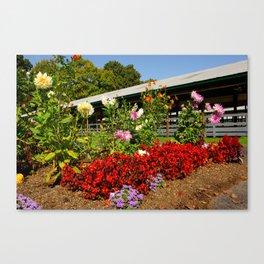 Flower Corner Canvas Print