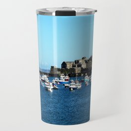 Boats & The Castle Travel Mug