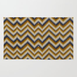 Patchwork Colours - sand Rug