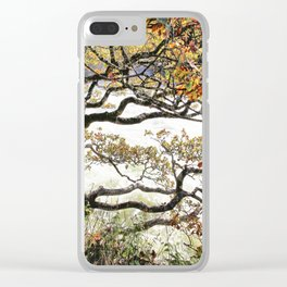 The tree talks Clear iPhone Case