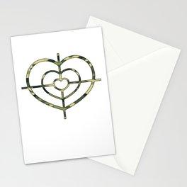 Heartscope Camo Stationery Cards