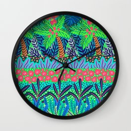 Laia&Jungle III Wall Clock