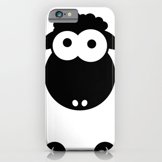 Minimal Sheep iPhone & iPod Case