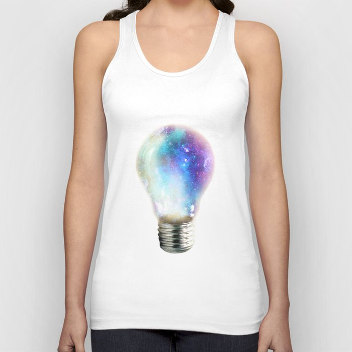 Light up your galaxy Unisex Tank Top
