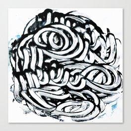 Mute 4 Canvas Print