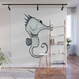 PSC Sea Horse Wall Mural