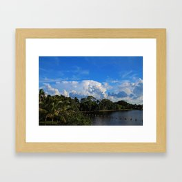 Dream a Little Daydream Framed Art Print