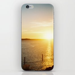 pacific sunset iPhone Skin
