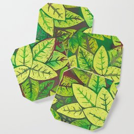 Spring leaves Coaster