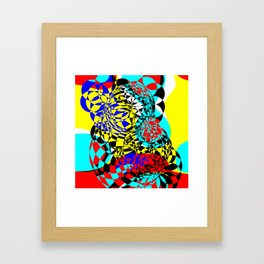 Color Bomb  Framed Art Print