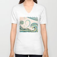 drink V-neck T-shirts featuring In the Drink by DebS Digs Photo Art