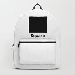 Square Shape Backpack