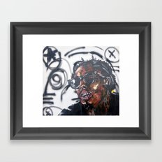 weezy f Framed Art Print